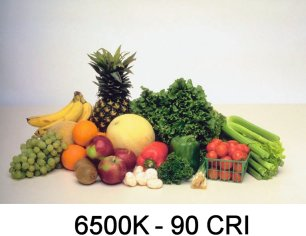 6500K - 90 CRI LED
